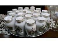 Vintage spice jars