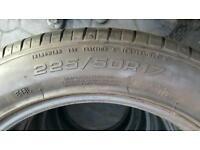 Good Year Run Flat Tyres 4x 225/50 R17