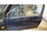 Ford Fiesta passenger door (removed from 3 door car)