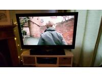 Philips 47 inch HD LCD TV & Sony 2.1 Blue Ray Home Theatre System