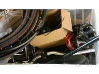 Bike part clear out loads cheap! Joblot