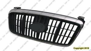 Grille Chrome/Black Sedan Hyundai Elantra 2001-2003