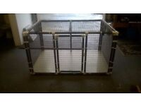 2 Penthouse animal enclosures