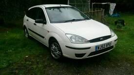 2003 Ford Focus 1.8tdi white