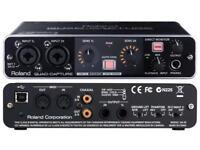 Roland Quad-Capture UA-55, USB 2.0 Audio Interface - VGC (With Original Box etc)