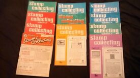 STAMP COLLECTING WEEKLY MAGAZINES - £1 EACH