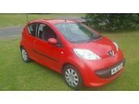 2007 (56) PEUGEOT 107. 1.0 PETROL. LOW MILEAGE 86K. ONLY £999