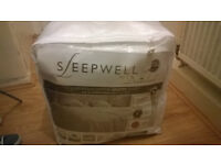Sleepwell by Dreamland Luxurious Cotton Heated Duvet with Intelliheat Technology