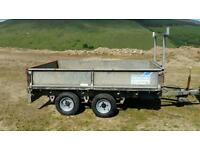 8 X 5 ifor Williams trailer dropsides new wheels Cookstown