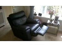 Settee, Chair and reclining Chair