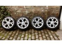 BMW alloys set of 4 to fit X1