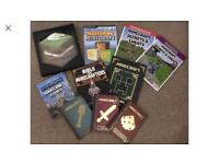 Bumper collection of Minecraft books