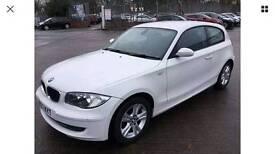 2007 57 BMW 118d 2.0TD SE WHITE SPARE OR REPAIR