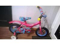 """reef rascals bike 12"""" wheels with stabilisers"""