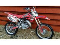 Honda cr80 2002 big wheel with 85 tank and plastics