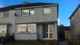 Recently refurbished 3 Bed Semi-detached House to rent