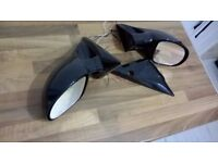 BLACK M3 ELECTRIC DOOR WING MIRRORS BMW E46 3 SERIES