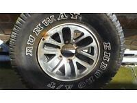 4x4 alloy wheel