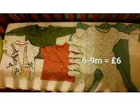 Small bundles baby clothes