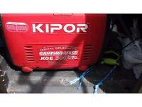 kipor digital generator camping-mate kge 3000tc