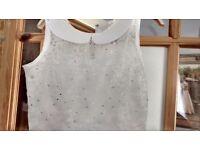 White bridesmaid dress/ communion dress