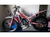 2010 beta Evo 290cc Trials bike
