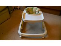 A Chicco baby walker in very good condition