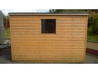 10ft x 7ft Wooden Garden Shed