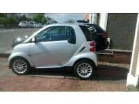 Smart, FORTWO COUPE, Coupe, 2009, Semi-Auto, 999 (cc), 2 doors
