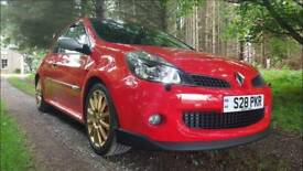 2008 Renault Clio 197 RS LUX + CUP with PANORAMIC ROOF in Ultra Red