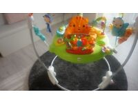 Fisher Price Roarin' Rainforest Jumperoo in Excellent Condition