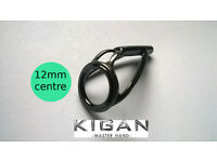 KIGAN 12mm Tip Ring Replacement for CARP ROD including fitting M32 Manchester