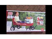 New radio flyer camping festival wedding wagon cart garden outside picnic trolley