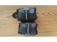 Sportline adjustable ankle and wrist weights 2 x 2.5lb