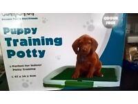 2 puppy training pottys