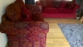 Sofa - 3 seater & 2 seater - excellent condition