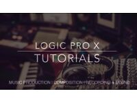 Music Production Lessons - LOGIC PRO X - 1:1 Tuition - Recording - Mixing - Songwriting and more!