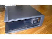 HP Laptop Docking Station EN488AA + Monitor Stand PA 507 A + Genuine HP PSU