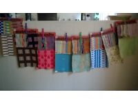 Fab vintage fabric samples for sale