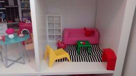 Barbie Ikea toy sitting room