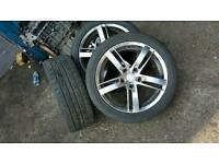 Bmw alloy wheels 17inch