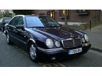 MERCEDES E300 TD DIESEL AUTO 1999 T REG MET PURPLE / LEATHER 4 DOOR SALOON PAS A/C 139K SUPERB