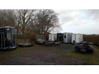 Various Trailers for Hire, Horse Trailers, Car Recovery, Box Trailer etc.