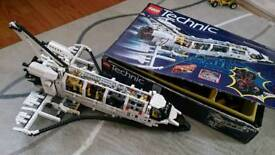 Lego Technic Space Shuttle 8480 and other models