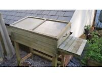 Garden Trough and Cold Frame Planter