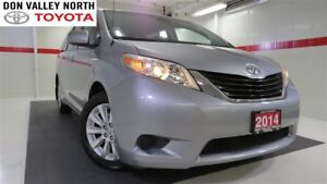 2014 Toyota Sienna LE 7 PASS Btooth BU Camera Cruise Pwr Slide D