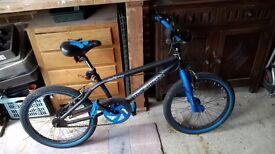 Boys muddy fox BMX bike