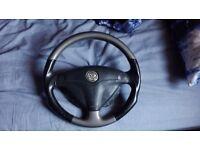 Vauxhall vectra.B. G.S.I steering wheel