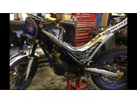 Sherco 300 2014 road Reg trials bike