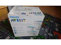 Philips Avent electric steam steriliser £5
